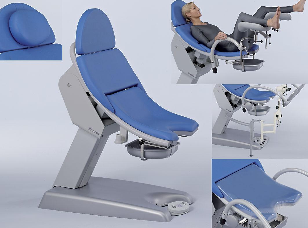Как женщина залазит на гинекологическое кресло — photo 11